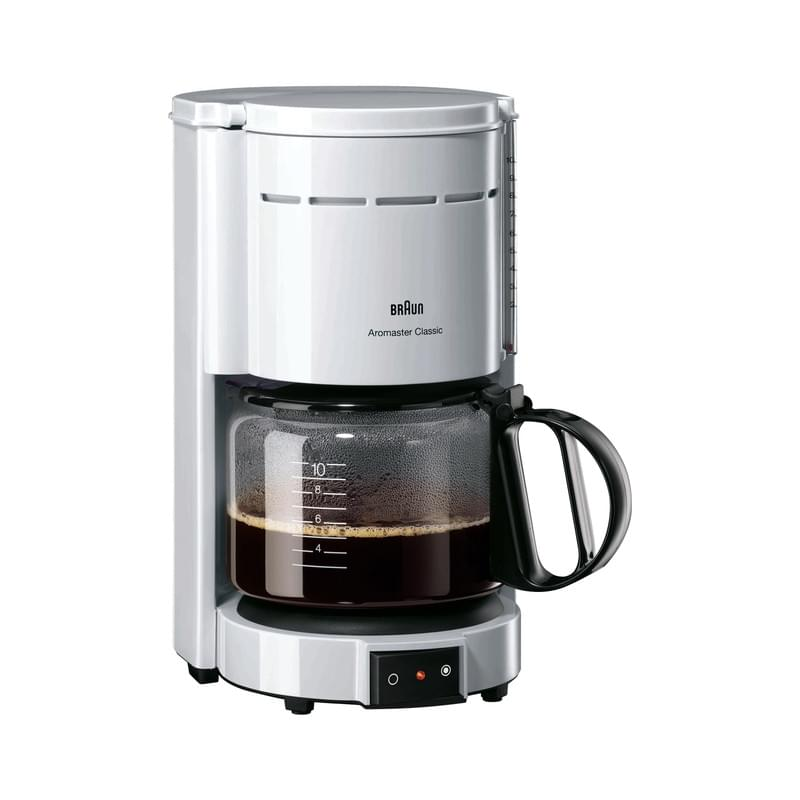 Braun KF47 Aromaster weiß Kaffeemaschine